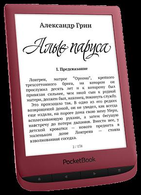 PocketBook 628 Красный